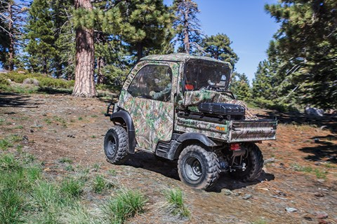 2017 Kawasaki Mule SX 4x4 XC Camo in Albemarle, North Carolina