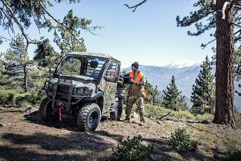 2017 Kawasaki Mule SX 4x4 XC Camo in Norfolk, Virginia