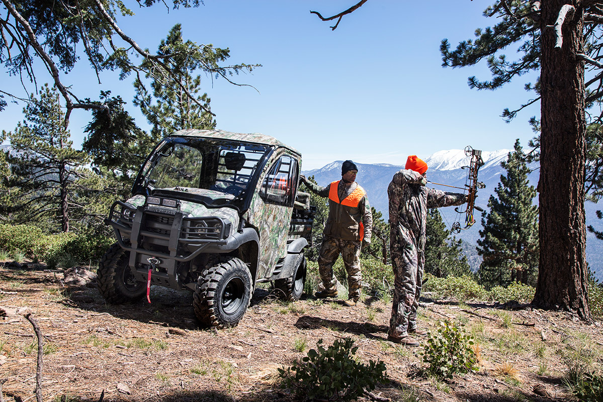 2017 Kawasaki Mule SX 4x4 XC Camo in Colorado Springs, Colorado