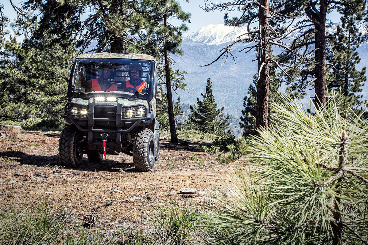 2017 Kawasaki Mule SX 4x4 XC Camo in Yuba City, California