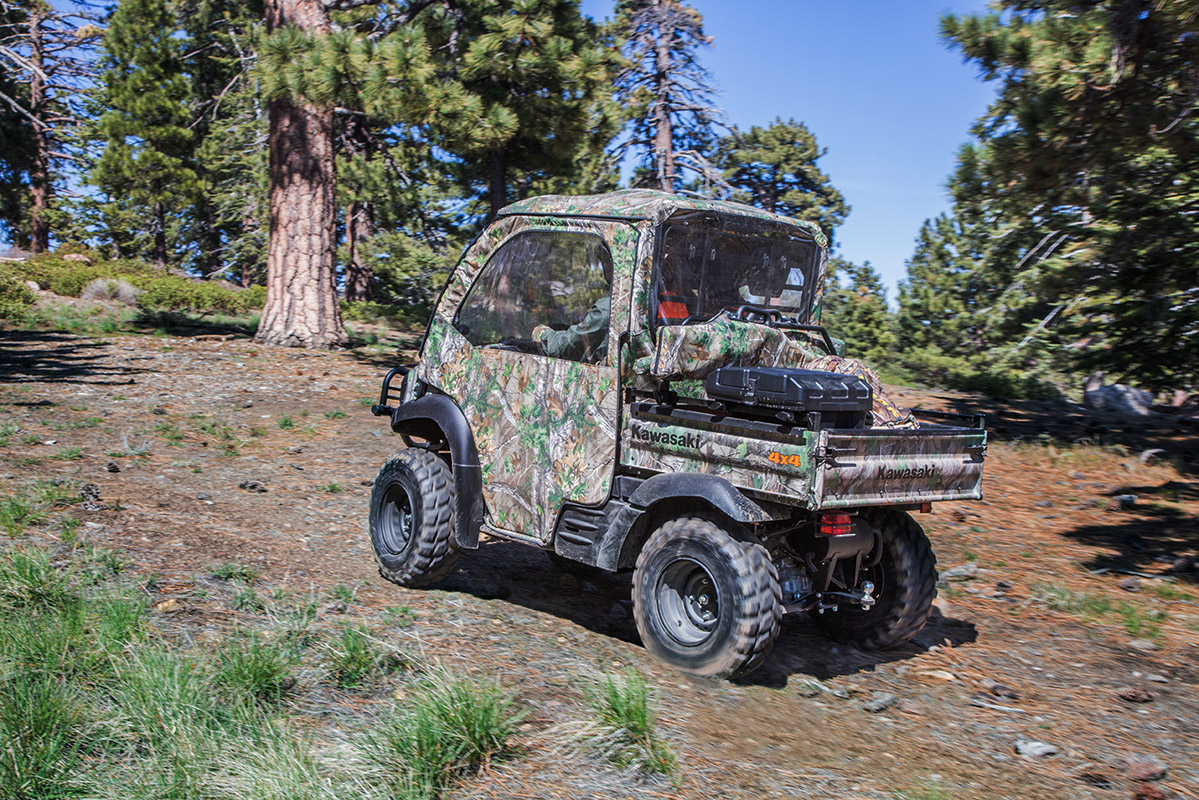 2017 Kawasaki Mule SX 4x4 XC Camo in Asheville, North Carolina