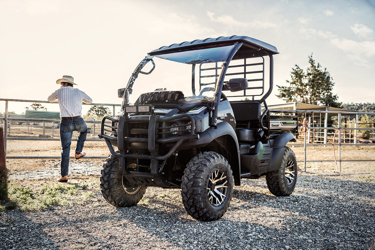 2017 Kawasaki Mule SX 4x4 XC SE in Paw Paw, Michigan