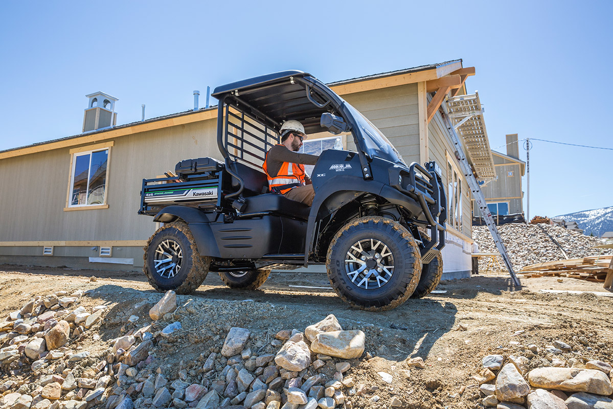 2017 Kawasaki Mule SX 4x4 XC SE in Yuba City, California