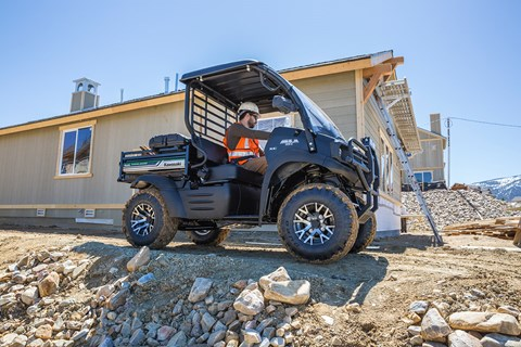 2017 Kawasaki Mule SX 4x4 XC SE in Massillon, Ohio