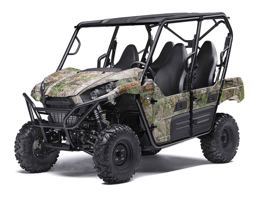 2017 Kawasaki Teryx4 Camo in Hickory, North Carolina