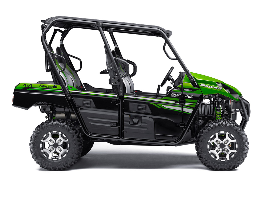 2017 Kawasaki Teryx4 LE in Johnson City, Tennessee
