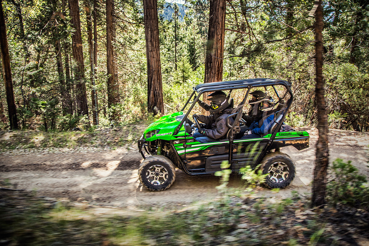 2017 Kawasaki Teryx4 LE in Yuba City, California