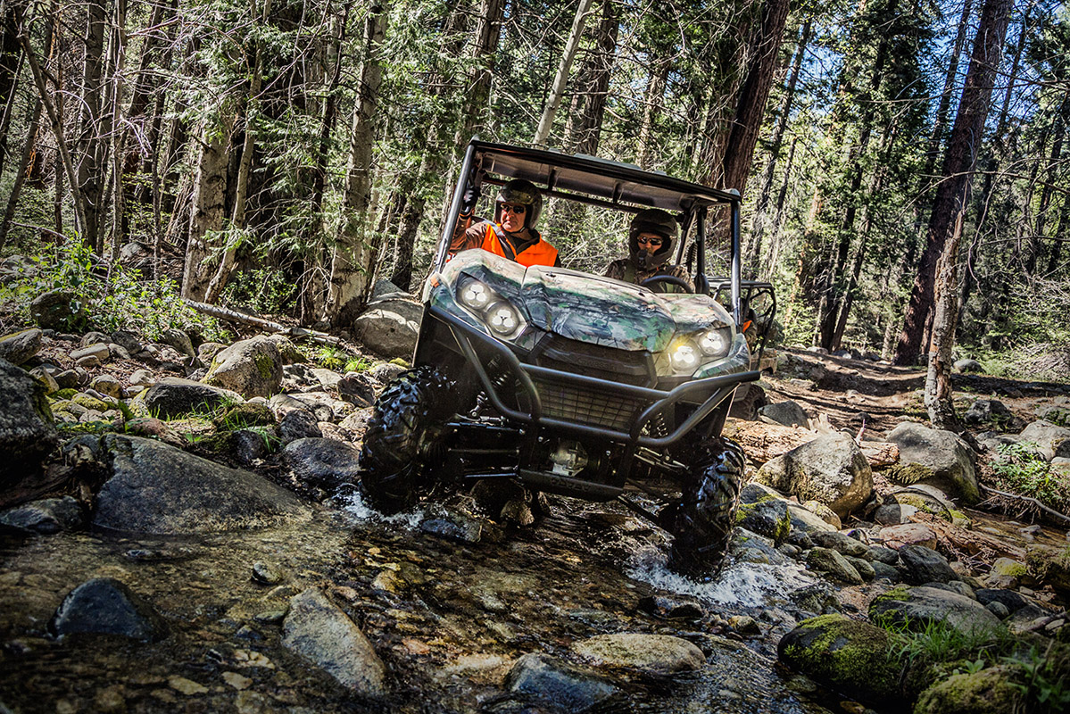 2017 Kawasaki Teryx Camo in Romney, West Virginia