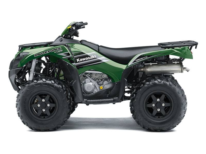 2018 Kawasaki Brute Force 750 4x4i in Merced, California