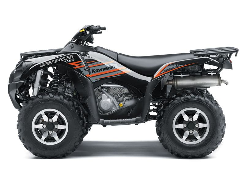 2018 Kawasaki Brute Force 750 4x4i EPS in Hollister, California