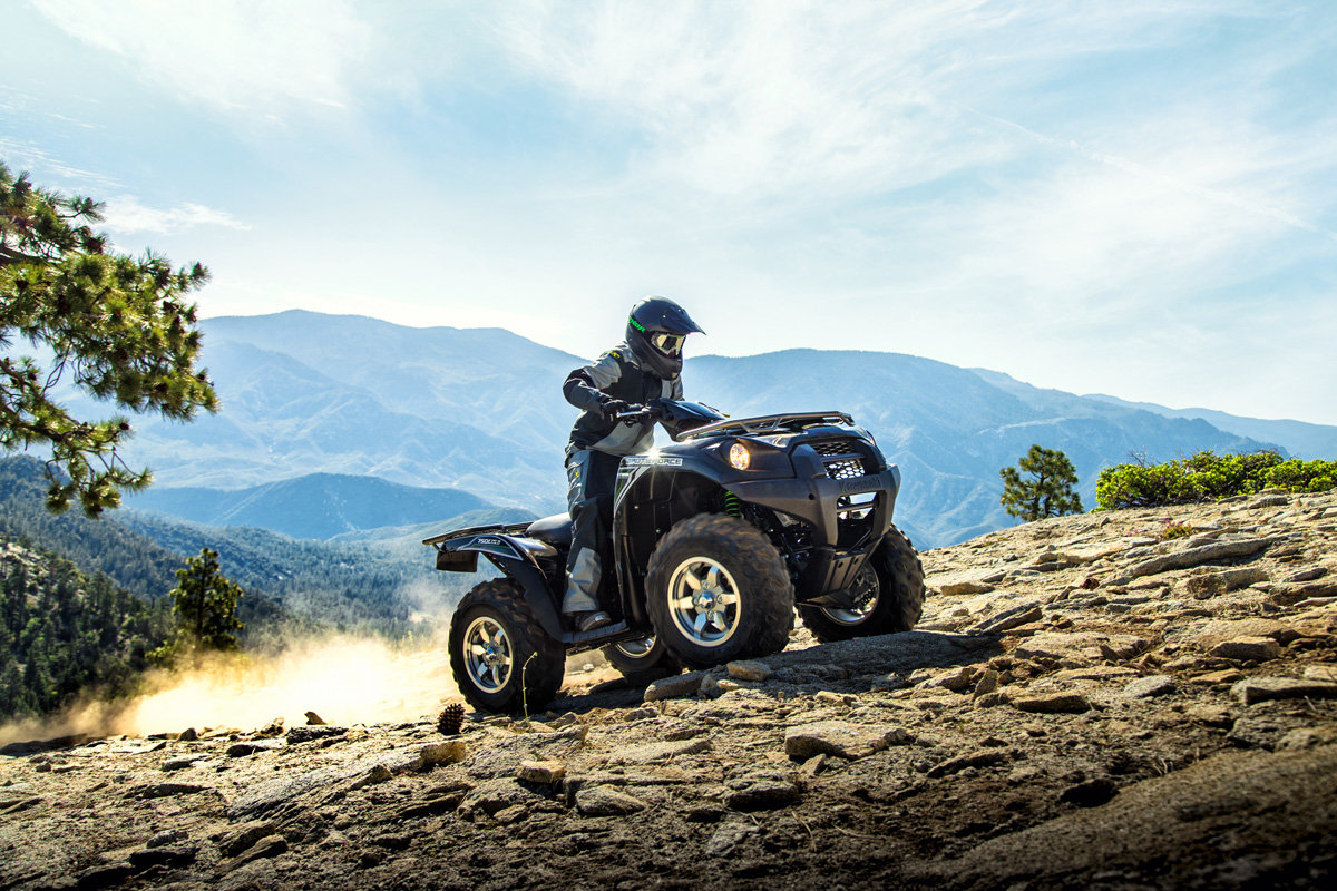 2018 Kawasaki Brute Force 750 4x4i EPS in Corona, California