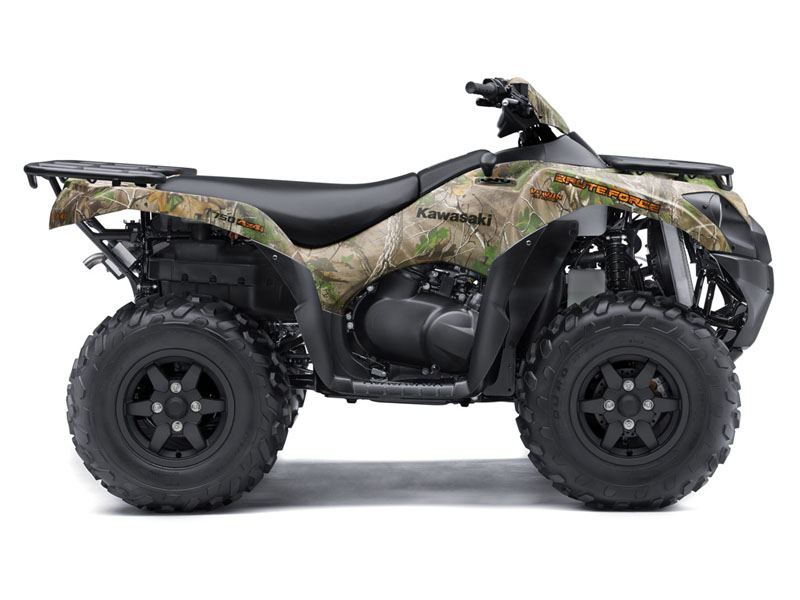 2018 Kawasaki Brute Force 750 4x4i EPS Camo in Stuart, Florida