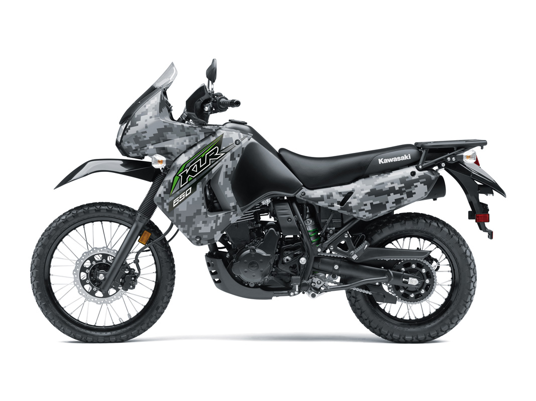 2018 Kawasaki KLR 650 Camo in Howell, Michigan