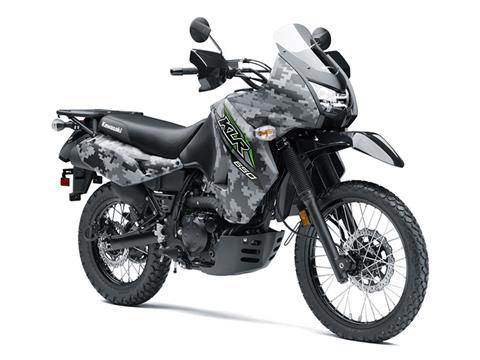 2018 Kawasaki KLR 650 Camo in Unionville, Virginia
