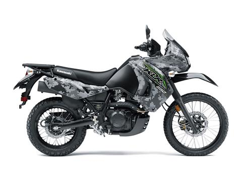 2018 Kawasaki KLR 650 Camo in Highland, Illinois