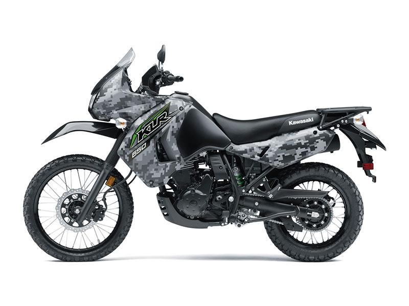 2018 Kawasaki KLR 650 Camo in Gaylord, Michigan