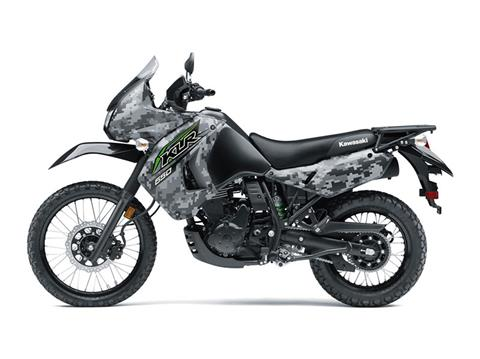 2018 Kawasaki KLR 650 Camo in Junction City, Kansas