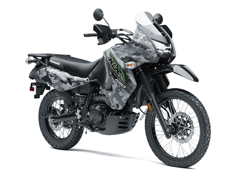 2018 Kawasaki KLR 650 Camo in Redding, California