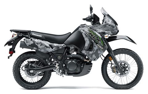 2018 Kawasaki KLR 650 Camo in South Paris, Maine - Photo 1