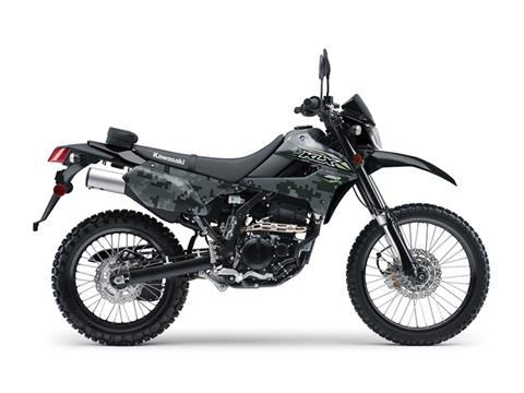 2018 Kawasaki KLX 250 Camo in Barre, Massachusetts