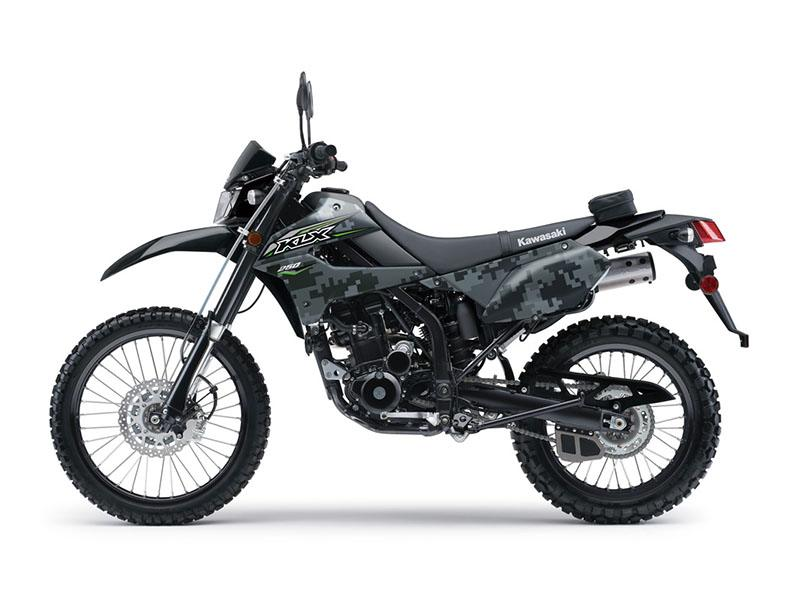2018 Kawasaki KLX 250 Camo in Rock Falls, Illinois
