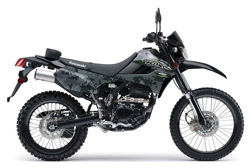 2018 Kawasaki KLX 250 Camo in Howell, Michigan - Photo 1