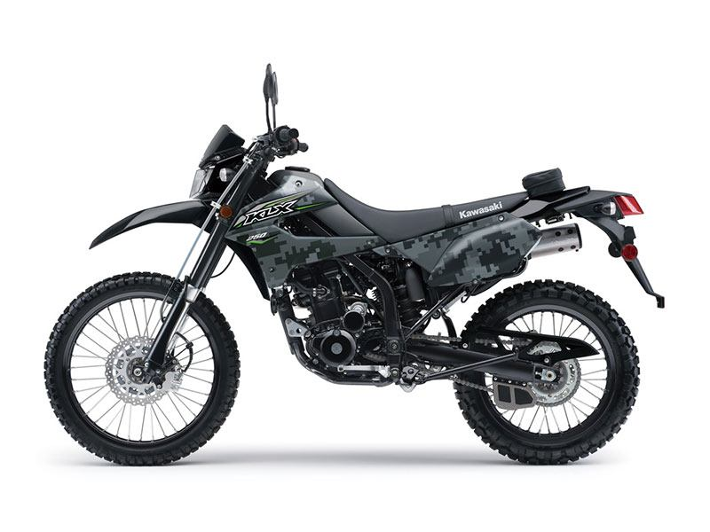 2018 Kawasaki KLX 250 Camo in Johnson City, Tennessee