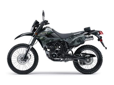 2018 Kawasaki KLX 250 Camo in Fairfield, Illinois