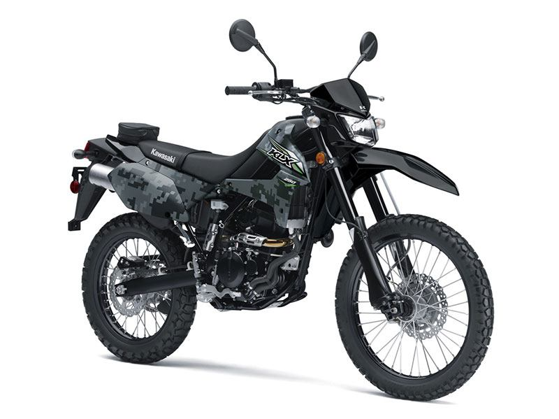 2018 Kawasaki KLX 250 Camo in Jamestown, New York
