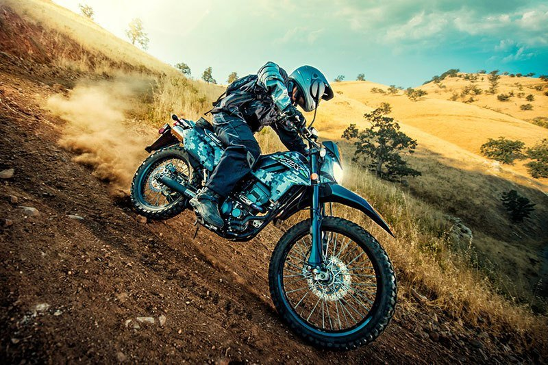 2018 Kawasaki KLX 250 Camo in Redding, California