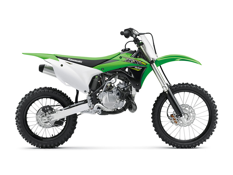 2018 Kawasaki KX 100 in Freeport, Illinois