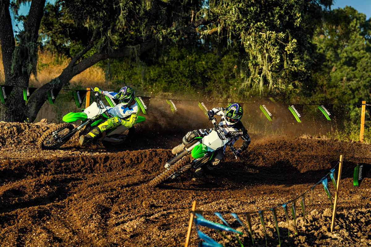 2018 Kawasaki KX 250F in Fontana, California