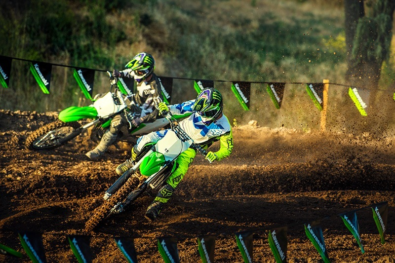 2018 Kawasaki KX 250F in Sacramento, California