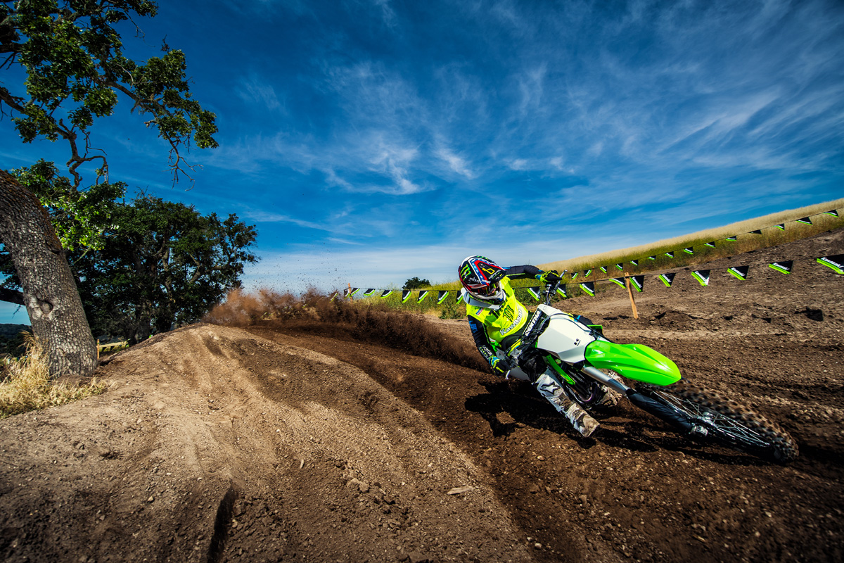 2018 Kawasaki KX 450F in South Paris, Maine