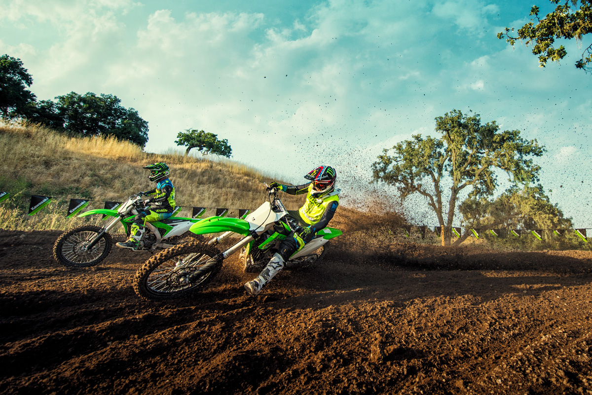 2018 Kawasaki KX 450F in Irvine, California