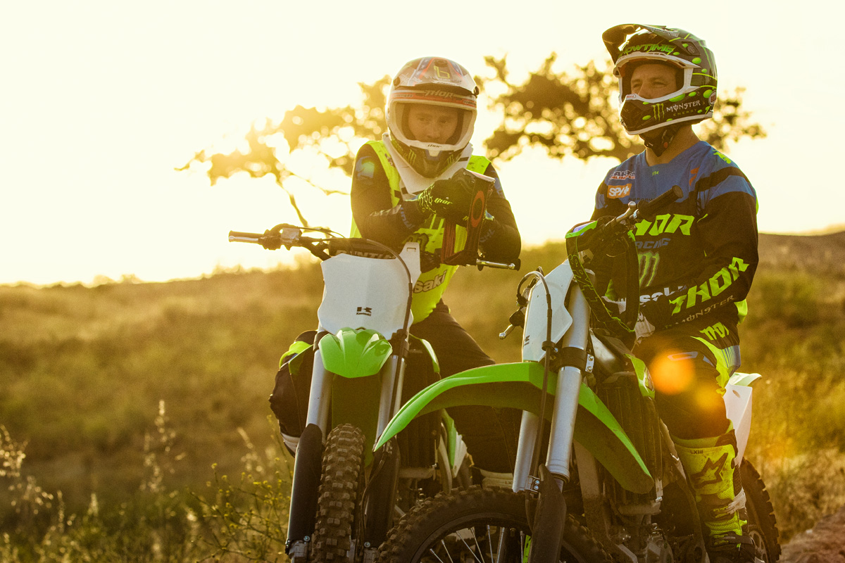 2018 Kawasaki KX 450F in Marietta, Ohio