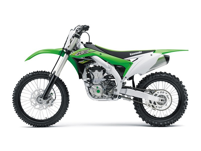 2018 Kawasaki KX 450F in Howell, Michigan - Photo 2
