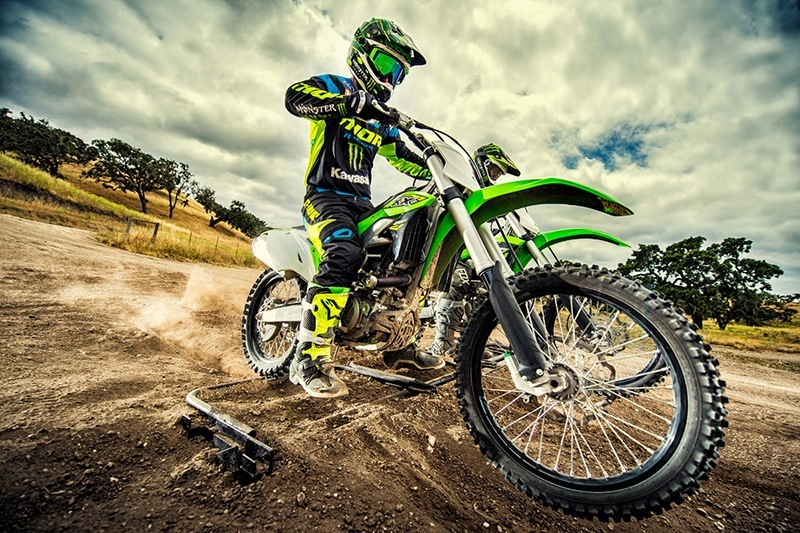 2018 Kawasaki KX 450F in Mount Vernon, Ohio