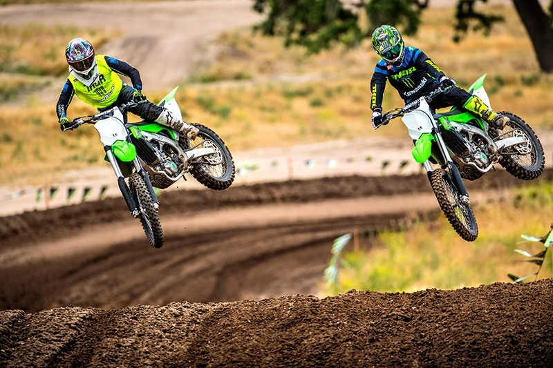 2018 Kawasaki KX 450F in Sacramento, California
