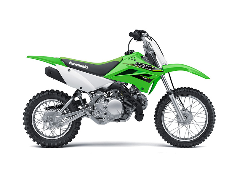 2018 Kawasaki KLX 110 in Baldwin, Michigan