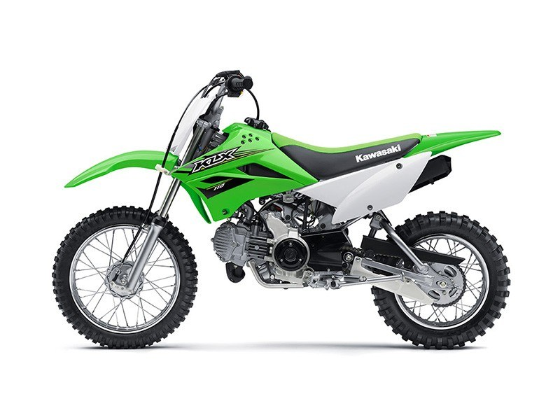 2018 Kawasaki KLX 110 in Highland, Illinois