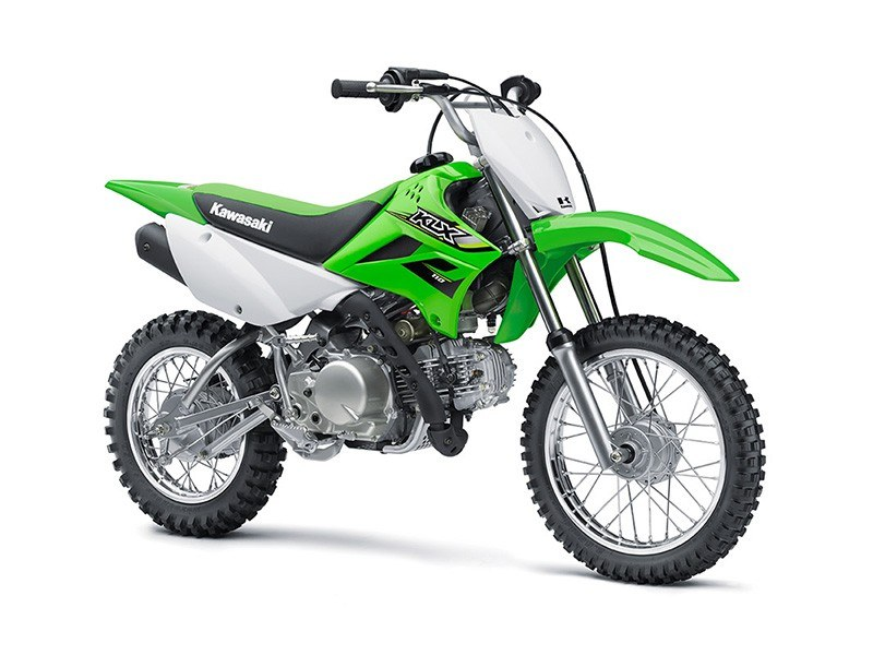 2018 Kawasaki KLX 110 in Freeport, Illinois