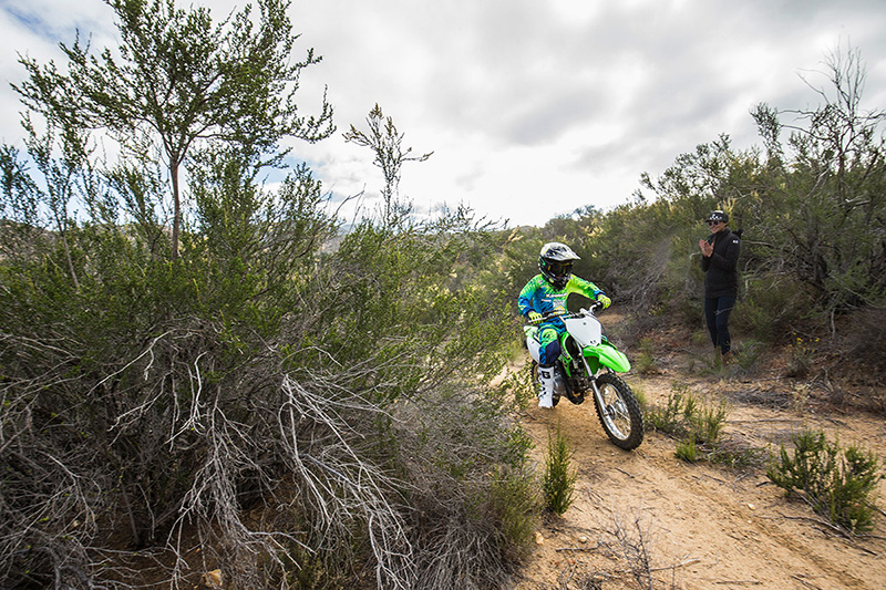 2018 Kawasaki KLX 110 in Corona, California