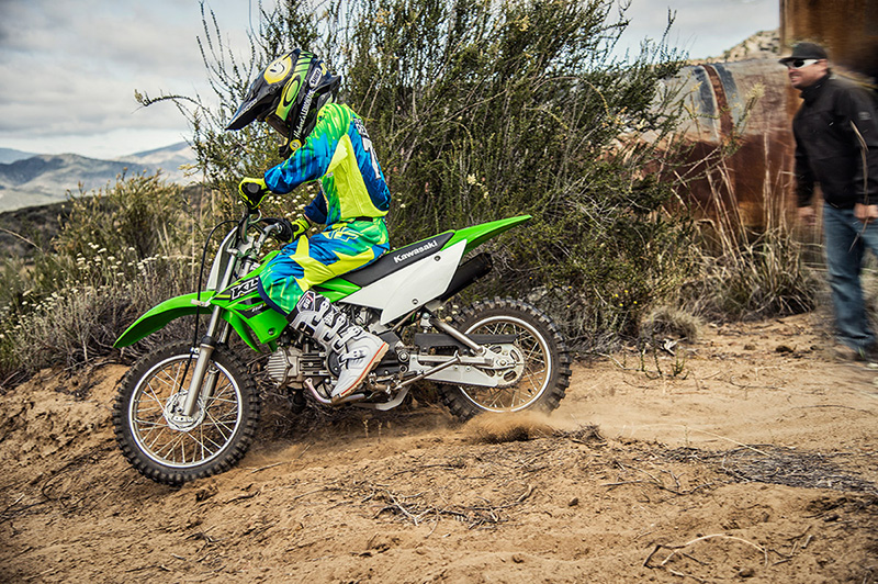 2018 Kawasaki KLX 110 in Merced, California