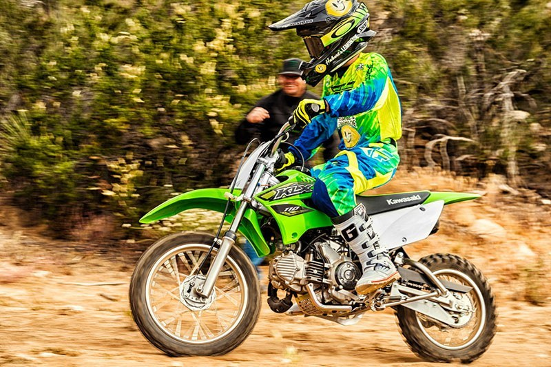 2018 Kawasaki KLX 110 in Hicksville, New York - Photo 6