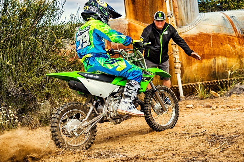 2018 Kawasaki KLX 110 in Hollister, California
