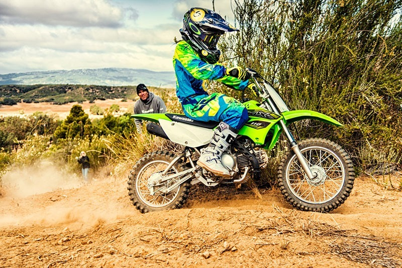 2018 Kawasaki KLX 110 in Hicksville, New York - Photo 9