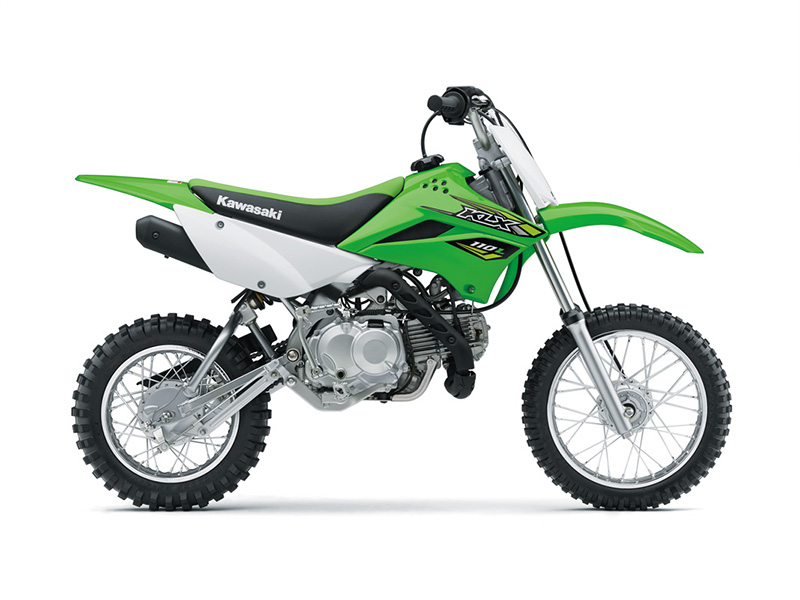 2018 Kawasaki KLX 110L in O Fallon, Illinois
