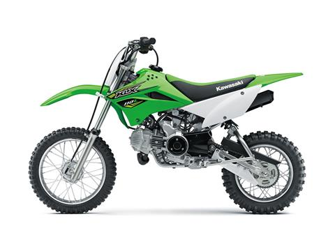 2018 Kawasaki KLX 110L in Fairfield, Illinois