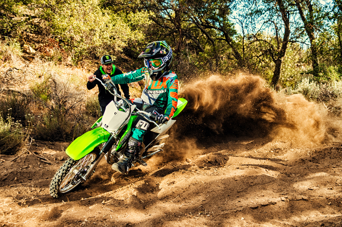 2018 Kawasaki KLX 140 in Ukiah, California
